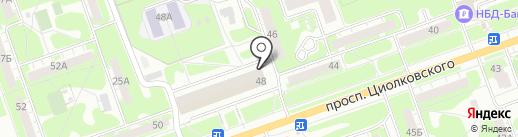 Since 2010 на карте Дзержинска