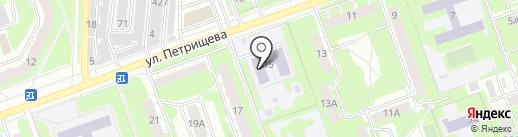 Детский сад №17 на карте Дзержинска