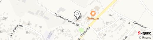 Шеврон на карте Незлобной