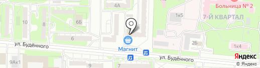 ШИКолад на карте Дзержинска