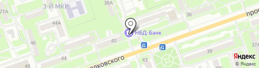 Почта России, ФГУП на карте Дзержинска