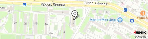 Comepay на карте Дзержинска