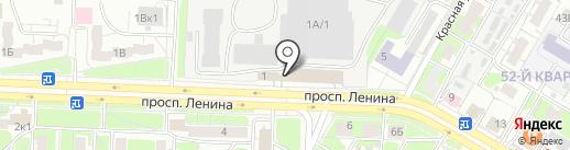 Безопасный труд НН на карте Дзержинска