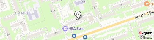 Чародейка на карте Дзержинска