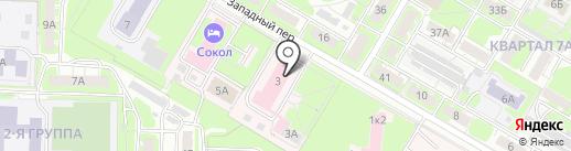 Витязь на карте Дзержинска