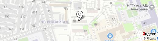 Чудо на карте Дзержинска