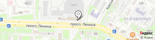 АУТОР-НН на карте Дзержинска