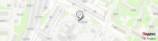 Хлебозавод №2 на карте Дзержинска