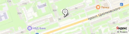 Анастасия на карте Дзержинска