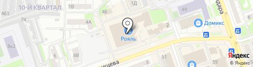 Centro на карте Дзержинска