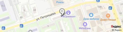London на карте Дзержинска