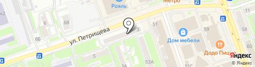 Оптика Приволжская на карте Дзержинска