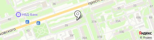 Автоспецтранс на карте Дзержинска