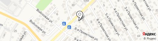 Магазин электротоваров на карте Незлобной