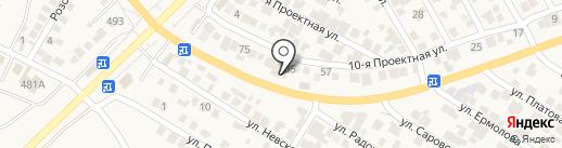 Попутчик на карте Незлобной