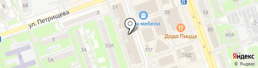 Московский индустриальный банк на карте Дзержинска