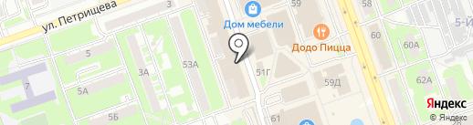 АВЕНТА на карте Дзержинска
