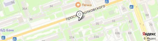 Люкс на карте Дзержинска