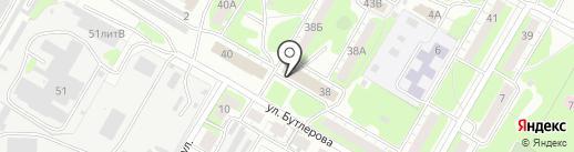 Почтовое отделение №32 на карте Дзержинска