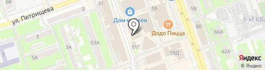Ковер в дом на карте Дзержинска