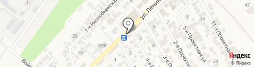 Продуктовый магазин на карте Незлобной