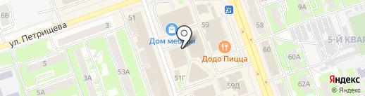 Киоск по продаже сухофруктов на карте Дзержинска