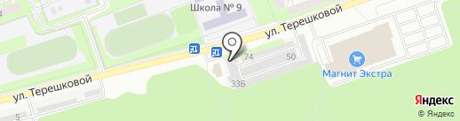 Компания по замене технических жидкостей на карте Дзержинска