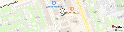 Салон-магазин на карте Дзержинска