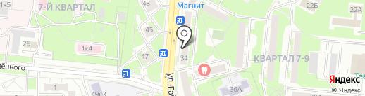 Мастер на карте Дзержинска