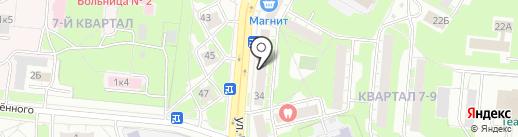 Наш доктор на карте Дзержинска