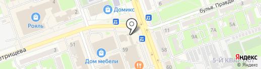 Ёршъ на карте Дзержинска