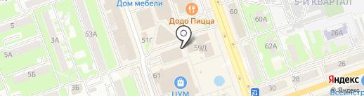 Супер Ценопад на карте Дзержинска