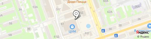 CARRAJI на карте Дзержинска