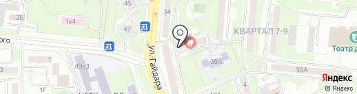 Центр компьютерного сервиса на карте Дзержинска