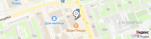 Банкомат, Промсвязьбанк, ПАО на карте Дзержинска