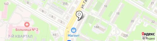 Семейный на карте Дзержинска