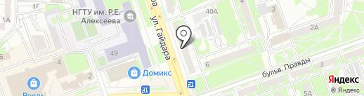Ломбард Оптима на карте Дзержинска