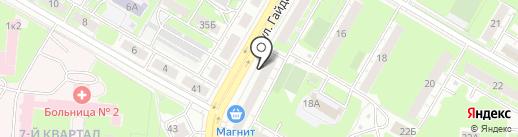 Почтовое отделение №26 на карте Дзержинска