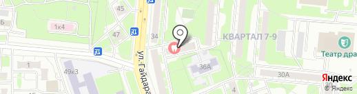 NBpart.ru на карте Дзержинска