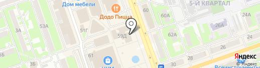 Сбербанк, ПАО на карте Дзержинска