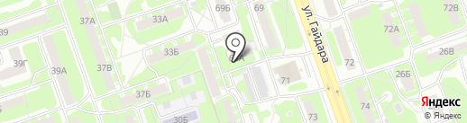 Сеть магазинов строительного крепежа на карте Дзержинска