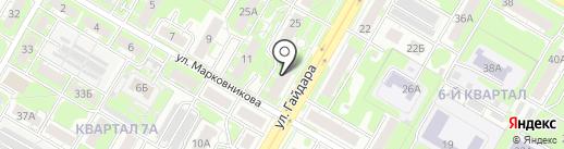 HOME flowers на карте Дзержинска