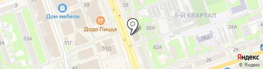 Магазин каминов и печей на карте Дзержинска