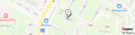 Варкрафт на карте Дзержинска
