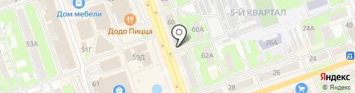 Триколор ТВ на карте Дзержинска