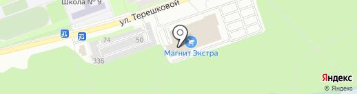 Мелодия здоровья на карте Дзержинска