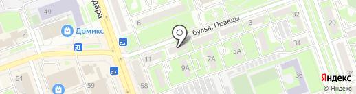 Норма на карте Дзержинска