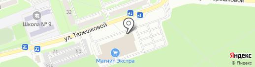 Банкомат, Сбербанк, ПАО на карте Дзержинска