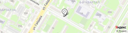 МЕТАКОН-НН на карте Дзержинска