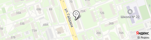 Общественная приемная депутата городской Думы Нижегородской области Терентьева А.Г. на карте Дзержинска